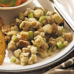Microwaved Poultry Dressing Recipe