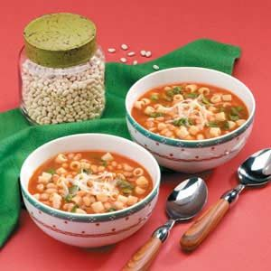 Spinach Bean Soup Recipe