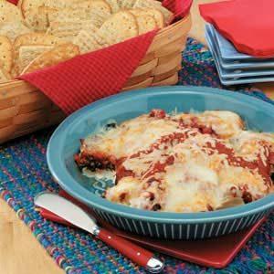 Pepperoni Mushroom Pizza Dip Recipe