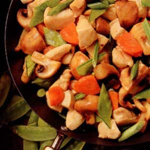 Chicken Mushroom Stir-Fry Recipe