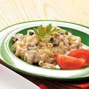 Macaroni Sausage Supper Recipe
