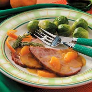 Spiced Tangerine Ham Recipe