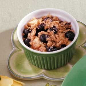 Pear Blueberry Crisps Recipe