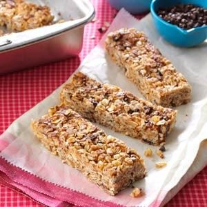 Granola Cereal Bars Recipe