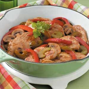 Pork and Veggie Saute Recipe