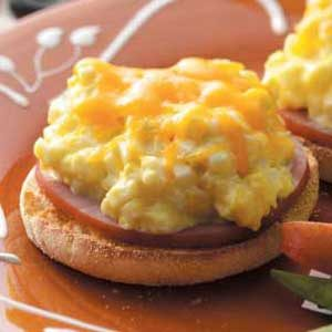 Egg Salad English Muffins
