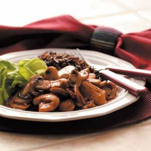 Tasty Turkey and Mushrooms Recipe