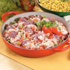 Turkey Sausage Jambalaya Recipe