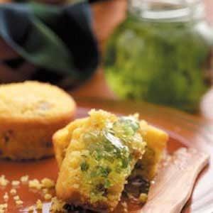 Pecan Corn Muffins Recipe