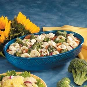 Broccoli and Cheese Tortellini Salad Recipe