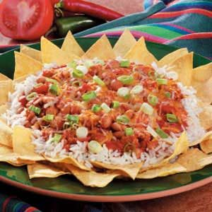 Tex-Mex Rice and Bean Snack Recipe