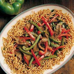 Spicy Beef with Peppers Recipe