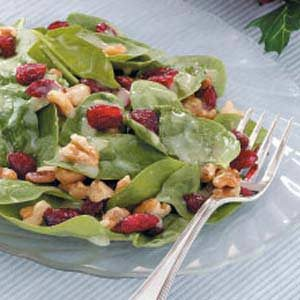 Special Spinach Salad Recipe