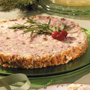 Cranberry Feta Cheesecake Recipe