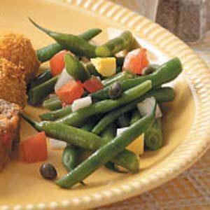 Colorful Green Bean Salad Recipe