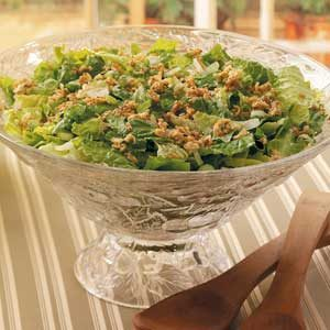 Sesame-Almond Romaine Salad Recipe