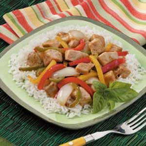 Chicken Pepper Stir-Fry Recipe