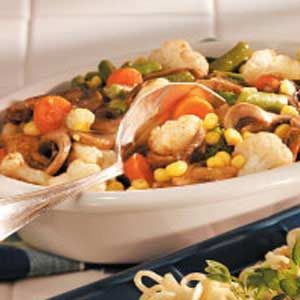 Cajun Vegetables Recipe