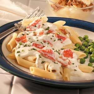 Quick Crab Alfredo Recipe