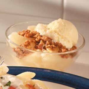 Gingersnap Pears Recipe