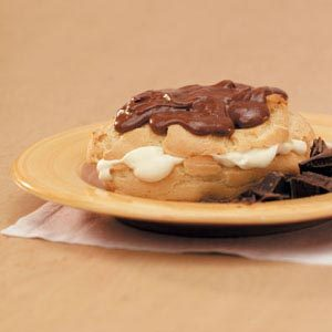 Chocolate-Frosted  Eclairs Recipe
