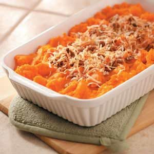 Coconut Sweet Potatoes Recipe