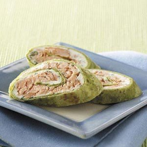 Salmon Pinwheels Recipe