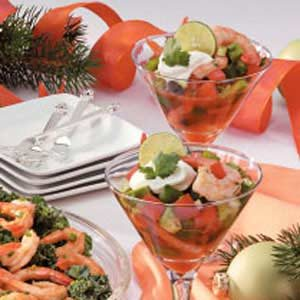 Gazpacho Shrimp Appetizer Recipe