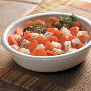 Dilled Fall Vegetables Recipe
