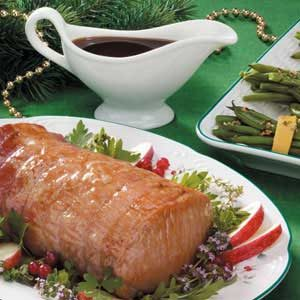 Apple-Glazed Pork Loin Recipe
