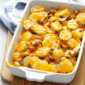 Cheesy Sausage Potatoes Recipe