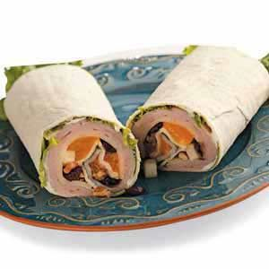 Cranberry Turkey Wraps Recipe