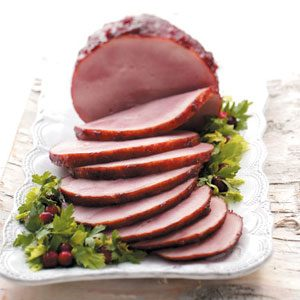 Cranberry Glazed Ham Recipe