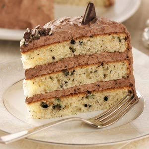 Chocolate Mint Cream Cake Recipe