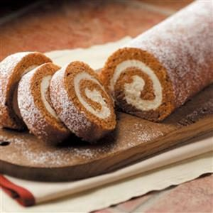 Favorite Pumpkin Cake Roll Recipe