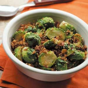 Crumb-Covered Sprouts Recipe