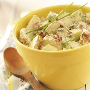 Avocado Potato Salad Recipe