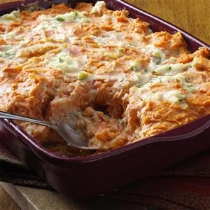 Swirled Potato Bake Recipe