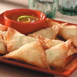Crispy Crab Rangoon Recipe