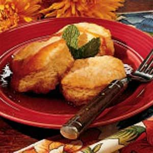 Maple Biscuit Dessert Recipe