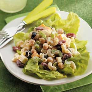 Macaroni Bean Salad Recipe