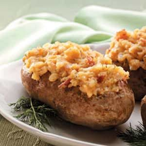 Dilly Stuffed Potatoes Recipe