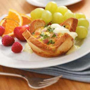 Eggs Benedict Cups Recipe