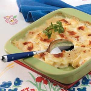 Golden Scalloped Potatoes Recipe