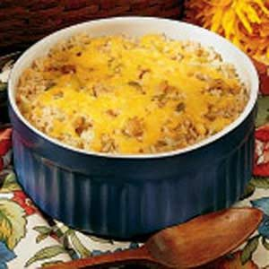Seafood Rice Casserole Recipe