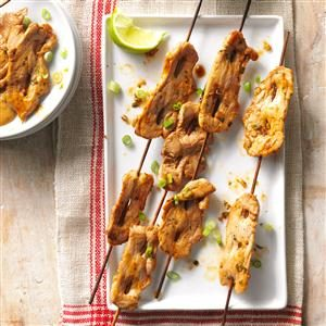 Pork Satay Recipe