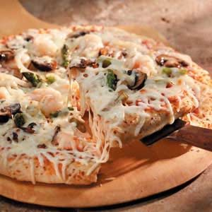 Shrimp 'n' Veggie Pizza Recipe