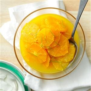 Marinated Oranges Recipe