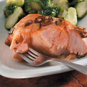 Honey-Orange Marinated Salmon