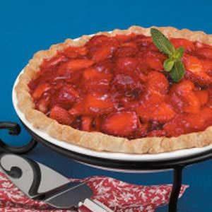 Flaky Strawberry Pie Recipe